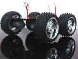 4WD全金属电机 智能小车底盘 大扭力 机器人 ARDUINO
