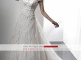 外贸出口 婚纱礼服批发 韩版新款新娘结婚高档婚纱大码拖尾定制