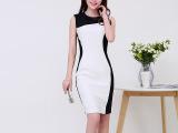 1404新款气质连衣裙欧洲站女装明星同款连衣裙一件代销女装免费代