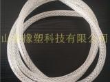 TPU纤维增强网纹管 无毒无味塑料软管 TPV网纹编织管