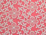 【热卖】新款时尚简约欧根纱绣花面料 服装、时装刺绣花用布JM56