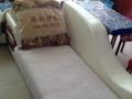 家用沙发组合,1+3+1长榻沙发,带靠垫,带沙发套,保存完好
