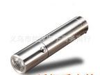 正品直销不锈钢强光手电筒小钢炮中开尾开不锈钢手电筒CREEQ5正品