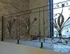 成都优美雅艺术护栏 铁艺护栏 透景护栏 飘窗护栏