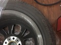 打包出售2014款宝马X1 9成新轮毂轮胎