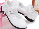韩国童鞋 HAWK-11008真皮可爱公主鞋童鞋一件待发品牌童鞋