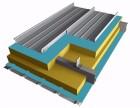 铝镁锰岩棉夹芯板 铝镁锰合金屋面板厂家 铝镁锰合金板