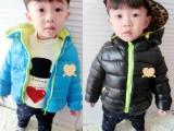 一件代发童装外套2014新款韩版男女儿童宝宝开衫棉衣 棉服 外出
