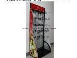 黑色零食金属展示架 零售超市商店展示货架 可加工定制