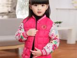 2015新品韩版儿童羽绒棉衣女 童装羽绒棉服童棉衣 儿童外套批发