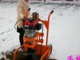 植树挖坑机 电线杆挖坑机/高强度硬土地专用地钻机
