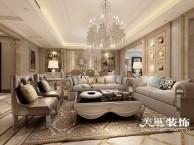 安阳美巢装饰,四室两厅欧式风格装修效果图案例