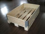 供应围板,围板,折叠木箱,免熏蒸围板箱
