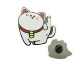 格弗特中山厂家定制卡通小猫珐琅徽章奖牌钥匙扣纪念币批发