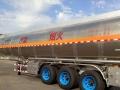 转让 油罐车解放铝合金油罐车 半挂油罐车