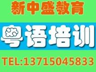 深圳龙华粤语零基础培训班