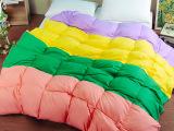 新款加厚羽绒被1.5米/1.8米床 单双人秋冬白鸭绒被子被芯特价