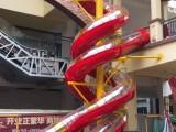供應大型非標不銹鋼無動力滑梯