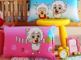 厂家直销 婴幼儿保健枕芯 珍珠棉枕头 幼儿园儿童枕头批发