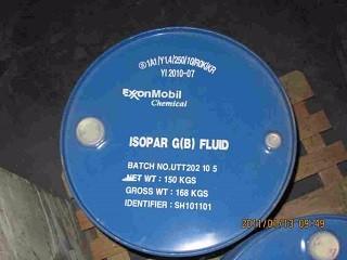 供应美孚异构烷烃溶剂油 Isopar G