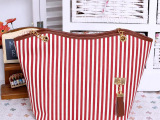新款包包外贸女包时尚休闲包帆布包条纹单肩包批发厂家直销批发