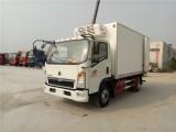 重汽豪沃4.2米冷藏车厂家直销可分期