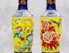 最大的陶瓷花瓶多大呢西安开业青花瓷花瓶摆件 迎客松大花瓶