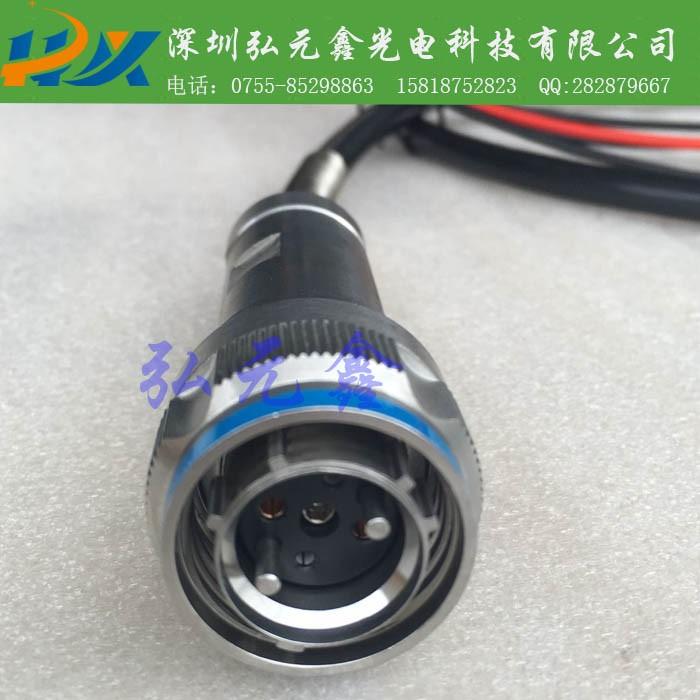 弘元鑫 厂家直销 J599系列2光2电混合连接器