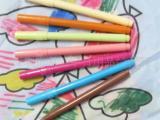 供应KH9837不可洗伞布布料笔 可洗纺织布料笔 可洗水彩笔 涂