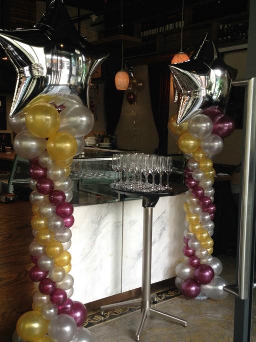 北京专业气球装饰布置 宝宝满月百天气球装饰 生日派对气球装饰