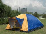 多人帐篷 3-4人帐篷 单层帐篷 户外野营帐篷