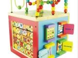 Parents品牌busy zoo多功能大绕珠金宝贝早教玩具木制