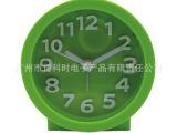 8103GN 厂家直销韩版糖果色圆形立体字BB闹钟 可贴钟面 欢
