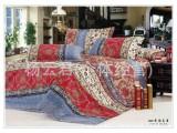波西米亚 全棉磨毛四件套面料 家纺棉布批发复古欧式波西米亚风