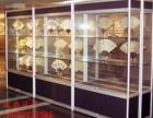 晋江货架服装货架精品展示柜钛合金制作玻璃柜