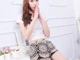 蕾丝短裤外穿打底裤女冬韩版薄款黑色保险裤