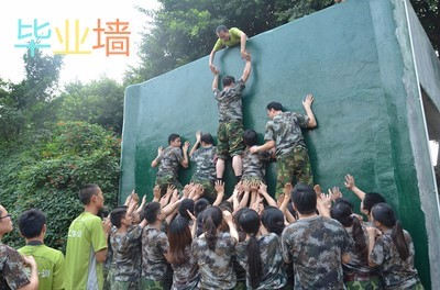 户外拓展团队训练凝聚力