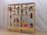 批发博古架实木家具多宝格置物架隔断书柜古玩茶叶架子特价