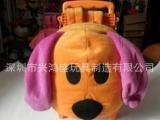 毛绒玩具,毛绒儿童拉杆书包,款式多样,厂