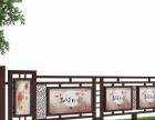 宿州广告传媒灯箱 园林宣传栏 指示牌 导向牌 设计