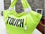厂价直销夏款女包新款荧光色手提单肩包潮女百搭包 优质地摊货源
