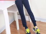 2015春季新款运动裤女韩版休闲裤女式哈伦裤小脚显瘦卫裤一件代发