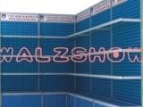 铝合金孔板标摊八棱柱展览展示架,仓储架,