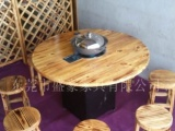 厂家直销火焰鹅餐厅桌椅,醉鹅餐厅桌椅,农庄桌椅,各类尺
