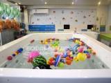 福州伊贝莎高端婴儿游泳池亚克力豪华一体池