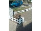 供应云南香格里娜景区塑钢PVC栏杆装饰