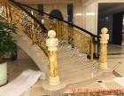 浙江护栏铝艺楼梯护栏造型与雕花完美搭配