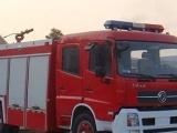 绥化市东风多利卡水罐消防车技术参数,水泥厂灰尘水罐消防车