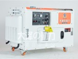 静音型车载12千瓦柴油发电机,投标指定大泽动力