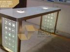 哈尔滨高尚苹果手机体验桌_镀金苹果体验台2015新品闪耀